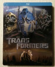 Transformers steelbook, Blu Ray  German import, region free, Fast Ship