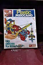 Meccano 300 Juego De Plástico Vintage.