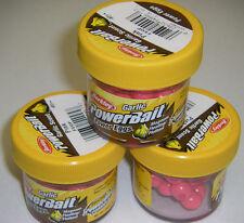 Berkley Powerbait GARLIC SCENT Magnum Power Eggs 3 pk Pink FEGP *NEW