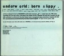 UNDERWORLD Born Slippy LTD ED  DOUBLE CD SET DIGIPACK