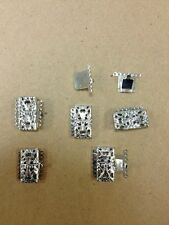 6 strand clasps for jewelry hard to find 24 sets