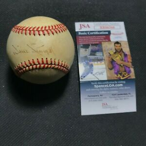 JSA Authentic Signed Willie Stargell Auto Rawlings NL Baseball Ball Pirates