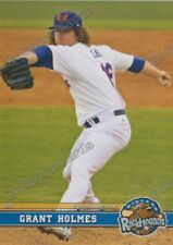 2017 Midland RockHounds Grant Holmes RC Rookie Oakland Athletics