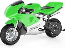 MotoTec Phantom Gas Pocket Bike 49cc 2-Stroke Green
