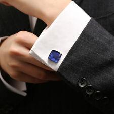 High-grade Star Blue Square Cufflinks Business Men's French Shirt Cufflinks