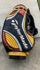 TaylorMade R7 Staff Golf Bag Leather Tour Preferred 6 Way Divider w/ Strap
