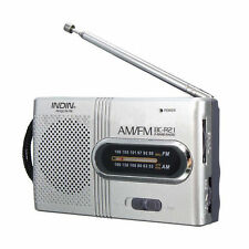 Outdoor Mini Portable AM/FM Telescopic Antenna Radio Receiver Battery Powered