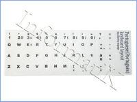 Adesivi Bianchi White Portugues Stickers Keyboard Autocolantes Brancos x Teclado