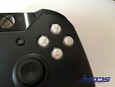 Xbox One 1 Custom ABXY Buttons with Letters Mod Kit (White)