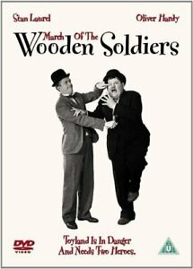 MARCH OF THE WOODEN SOLDIERS DVD [UK] NEW DVD
