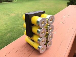 8 Shell Tactical Shotgun 20 Gauge Shell Ammo Holder with Vest / Belt Clip 20 Ga.