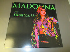 "1985 Madonna ‎– Dress You Up 12"" Maxi-Single Sire ‎– 0-20369 EX/VG+"