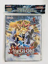 NEW Konami YU-GI-OH Shonen Jump 4-Pocket Duelist Portfolio with 20 Pages