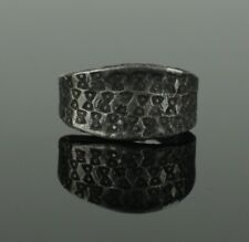 ANCIENT VIKING SILVER RING - CIRCA 9th/10th CENTURY  016