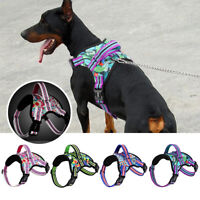 No Pull Dog Harness with Quick Control Handle Reflective Mesh Vest for Labrador