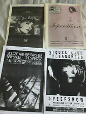 SIOUXSIE AND THE BANSHEES magazine advert / small poster RAPTURE SUPERSTITION