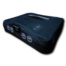 N64 Nintendo 64 System Console Dust Cover - Vinyl Black Washable Brand New!