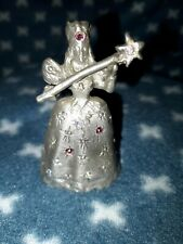Vintage Pewter Wizard Of Oz Figurine Glenda the Good Witch Comstock 624 0735 Cci