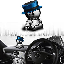 Dashboard Rotation Stand Accessories Car Smart Phone Magnetic Mount Holder Blue