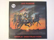 JAG PANZER AMPLE DESTRUCTION LP 2016 SEALED IMPORT COLOR VINYL SPEED METAL