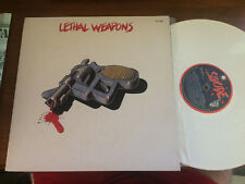 "LETHAL WEAPON WHITE LP RECORD 12"" GATEFOLD (NICK CAVE BIRTHDAY PARTY)"
