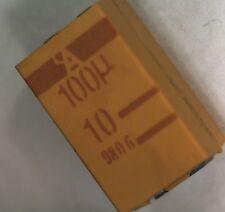 20 AVX 100uf 10V surface mount tantalum  capacitor TPSD107K01010R0100