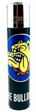 The Bulldog Coffeeshop Amsterdam - Refillable Rare Black Genuine Clipper Lighter