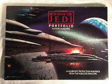 More details for star wars: original vintage return of the jedi portfolio by ralph mcquarrie 1983