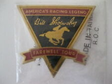 "Bill Shoemaker 1990 Farewell Tour Hat Pin ""America's Racing Legend"" Free Ship!"