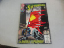 Rare Jan.1993 SUPERMAN The Death of Superman! DC Comic #75