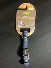 MOD REFLECTIVE DOG COLLAR 7.9-11.5  INCHES X SMALL NEW