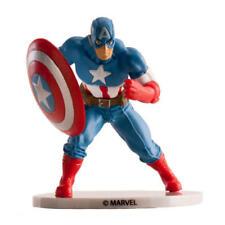Figuras de acción de superhéroes de cómics, PVC, Capitán América