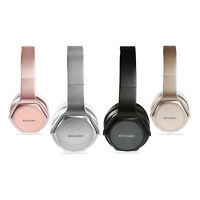 KOCASO Stereo Wireless Headphone Mic Foldable Portable Headset