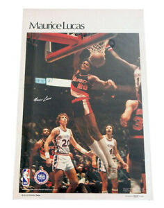 """1978 Sports Illustrated Maurice Lucas Poster Measures 24"""" X 36"""""""