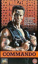 Arnold Schwarzenegger Action VHS Films