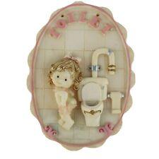 Funny 3D Toilet Door Sign Bog Loo Bathroom Lavatory WC Ladies Restroom Plaque