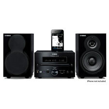Yamaha MCR-232BL Micro Component System (Black) Office or Bedroom Stereo