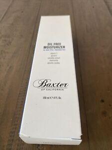 Baxter of California Oil Free Facial Moisturizer 120ml 4oz.Brand New.