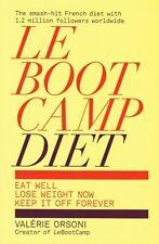Le Boot Camp alimentation par Valerie Orsoni New