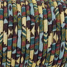 1m  Ethnic cotton Rope Cloth Ethnic Cord 6mm Jewellery Thread Thong ET13