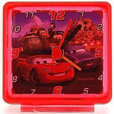 Disney mondo di macchine Lightening MC Regina Rosso Bambini Sveglia da comodino
