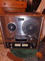 """TEAC A-4010 ANTIQUE STEREO TAPE DECK REEL-TO-REEL """"RARE"""""""
