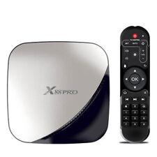 X88 PRO Smart Android 9.0 TV-Box Rockchip RK3318 Quad Core 64 Bit UHD VP9 J C9Q1