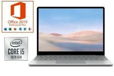 Microsoft Surface Laptop Go Platin - Core i5 - bis 512GB SSD - MS Office 2019