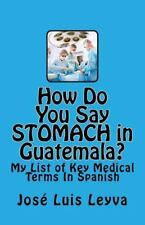 How Do You Say?: How Do You Say Stomach in Guatemala? : My List of Key...