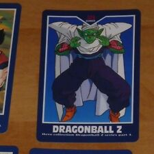 DRAGON BALL Z DBZ HERO COLLECTION PART 4 CARD CARTE 329 MADE IN JAPAN NM