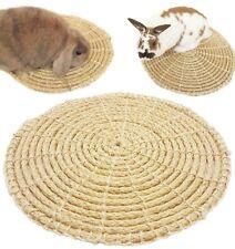 Organic Sisal 40cm Handmade Mat Safe Bed for Rabbit Cat Guinea Pig Small Pets