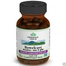 Bowelcare 120 Veg.Capsules by ORGANIC INDIA RELIEVE CONSTIPATION & IBS Naturally