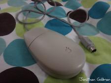 Apple Desktop Bus Mouse II ADB Beige Vintage for Macintosh Classic SE IIgs M2706