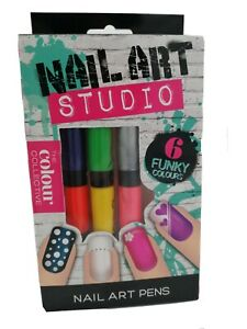 NAIL ART PENS NAIL ART STUDIO THE COLORS COLLECTIVE 6 FUNKY COLORS